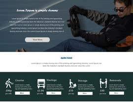#9 untuk Design a Website Mockup Must be user friendly 1 page fun site for tranport company oleh greenarrowinfo