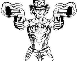 #27 untuk Design Uncle Sam Gangster oleh medokhaled