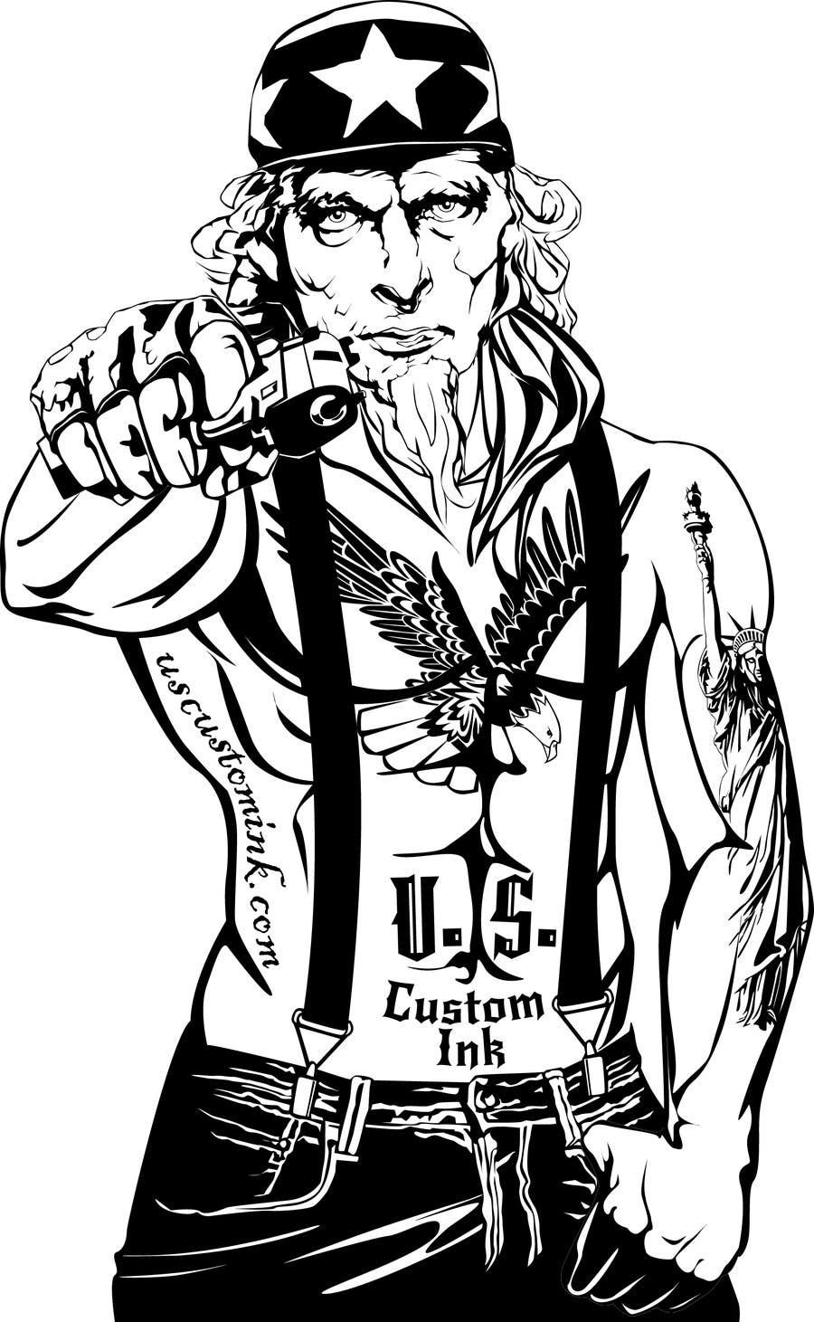 entry 24 by caloylvr for design uncle sam gangster freelancer