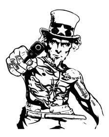 #6 untuk Design Uncle Sam Gangster oleh mogado