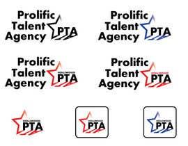 juliettamazini tarafından Design a Logo for Prolific Talent Agency (PTA) için no 17