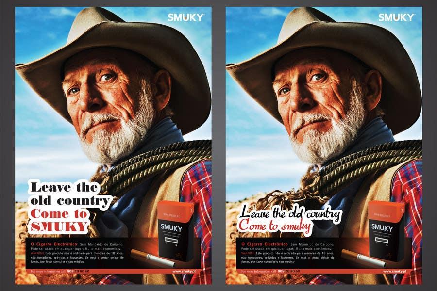 Participación en el concurso Nro.                                        70                                      para                                         Magazine Advertisement for SMUKY