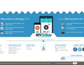 #1 untuk Create footer design for Magento online store oleh EhteshamMukhtar