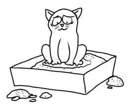 #10 untuk CatCommode Cartoon oleh marcokap