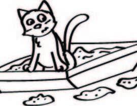 #2 untuk CatCommode Cartoon oleh giselarodrigues