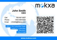 Contest Entry #1 for Design some Business Cards for Mokxa Technologies LLC