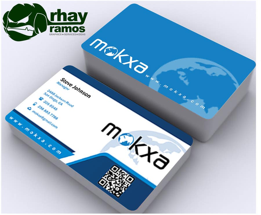 #25 for Design some Business Cards for Mokxa Technologies LLC by rhayramos11