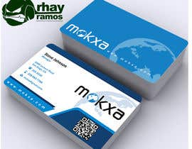 rhayramos11 tarafından Design some Business Cards for Mokxa Technologies LLC için no 25