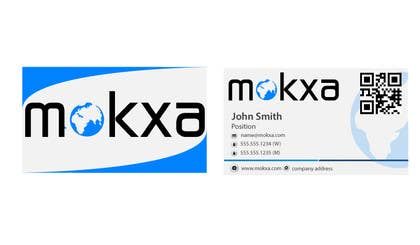 #14 for Design some Business Cards for Mokxa Technologies LLC by LucianCreative