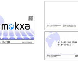 #11 para Design some Business Cards for Mokxa Technologies LLC por rahulgandhi83