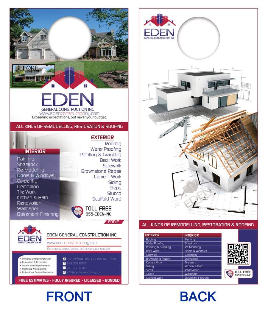 Inscrição nº                                         10                                      do Concurso para                                         Design a Flyer for a general contractor
