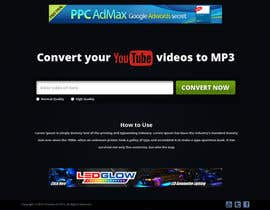 #10 para Youtube to MP3 Converter Website por tania06
