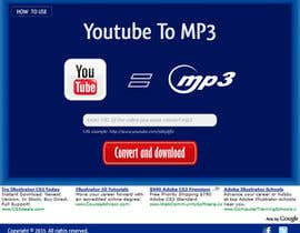 #38 untuk Youtube to MP3 Converter Website oleh macper
