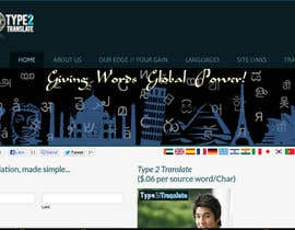 #36 for www.type2translate.com - Design our new header image for our site! by gurulenin