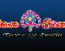 #8 untuk Design a Logo, tag line and a mascot for my Indian Sweets shop oleh inplatinum