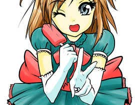 hugoshi tarafından Creation and Illustration of a Mascot (Must be a Manga Girl) için no 37