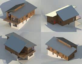 #19 untuk 3D model of Country house oleh moranarsindd