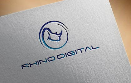 #15 untuk Redesign a Logo for Rhino Digital -- 2 oleh faisalmasood012