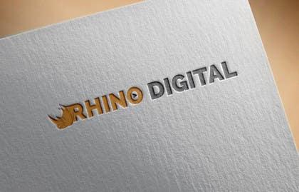 #70 untuk Redesign a Logo for Rhino Digital -- 2 oleh farooqshahjee
