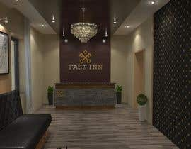 #7 untuk Reception and hotel room interior design oleh zeldom