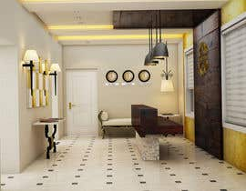 #18 untuk Reception and hotel room interior design oleh scaipz