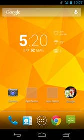 #14 untuk Design an app mock up for a home screen oleh uheybaby