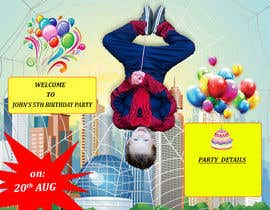 #13 untuk Birthday Invitation Contest oleh saivihar