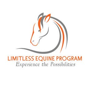 #23 untuk Design a Logo for Limitless Equine Program oleh squirrel1811
