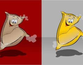 #23 untuk Draw a cartoony flour sack jump oleh viango