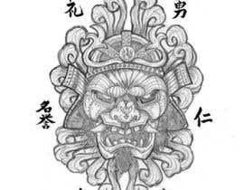 #12 untuk Design a Tattoo, 7 virtues of bushido oleh Pubble