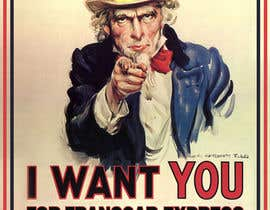 """#3 untuk Alter UNCLE SAM """"I want you"""" poster for business. oleh adsis"""