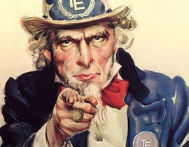 """#10 untuk Alter UNCLE SAM """"I want you"""" poster for business. oleh adsis"""