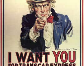 "#4 untuk Alter UNCLE SAM ""I want you"" poster for business. oleh boukhithatem"