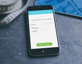 #1 untuk Mobile app mock up oleh JamesNetherman