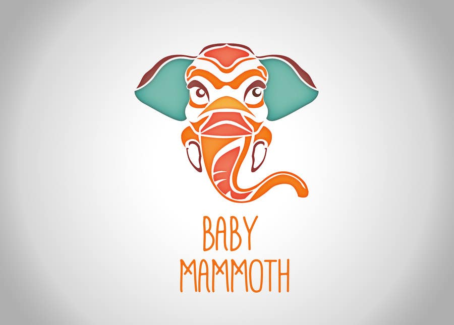 #35 for Design a Logo for Baby Mammoth! by PoppyS