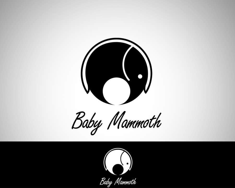 Inscrição nº 21 do Concurso para Design a Logo for Baby Mammoth!