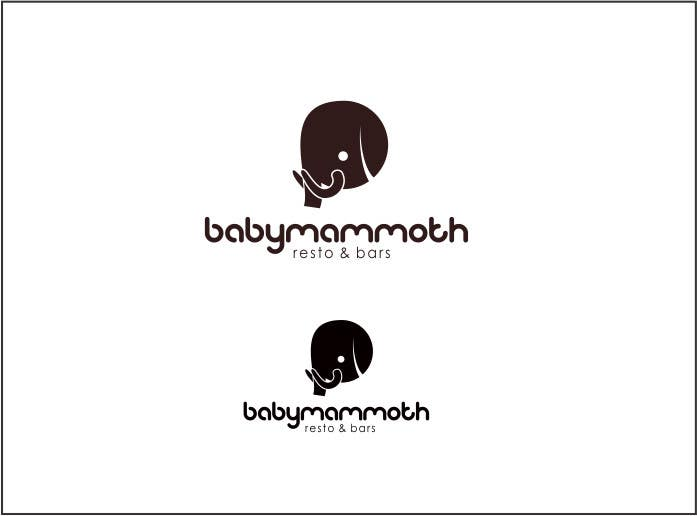 #108 for Design a Logo for Baby Mammoth! by rueldecastro