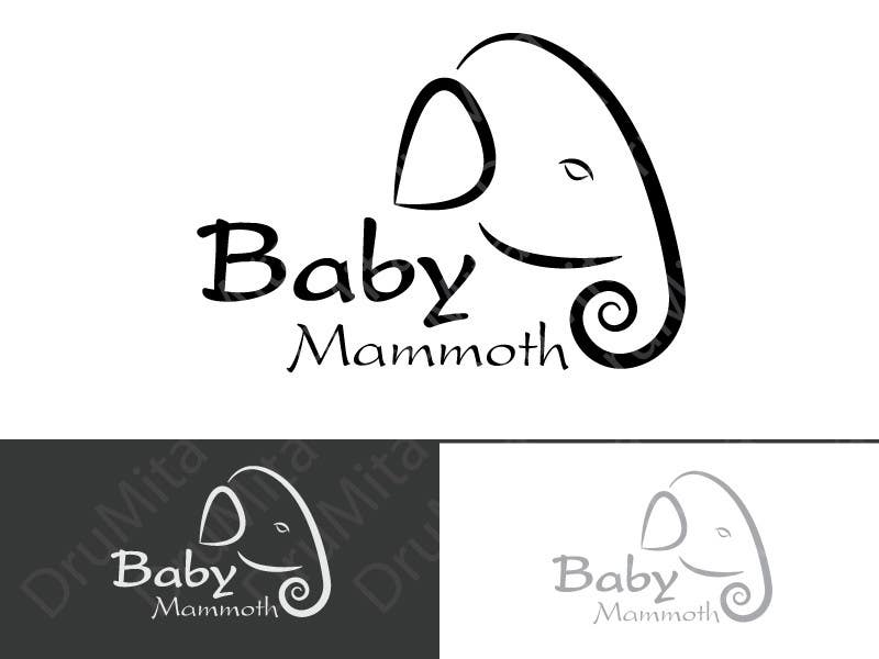 #17 for Design a Logo for Baby Mammoth! by DruMita