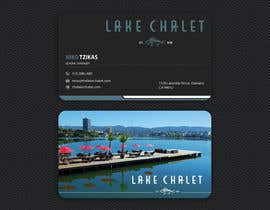 #96 untuk Design some Business Cards for Lake Chalet oleh ashanurzaman