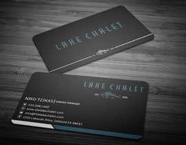 #8 untuk Design some Business Cards for Lake Chalet oleh anikush