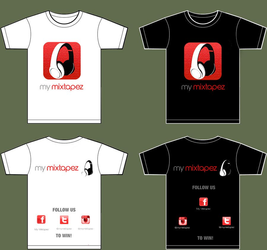 #21 for Design a T-Shirt for My mixtapez by soorajpremsooraj