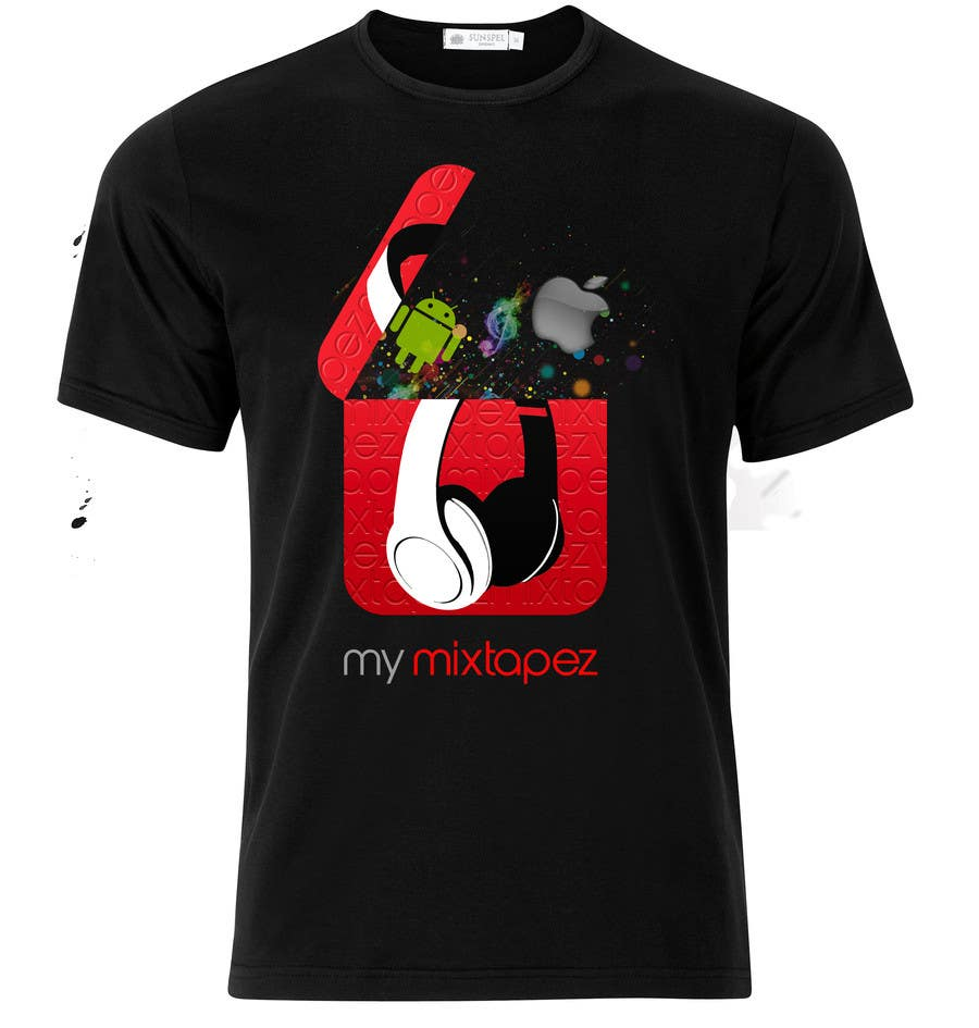 #51 for Design a T-Shirt for My mixtapez by Holdem7