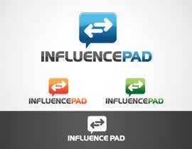 #207 para Logo Design for InfluencePad por Bluem00n