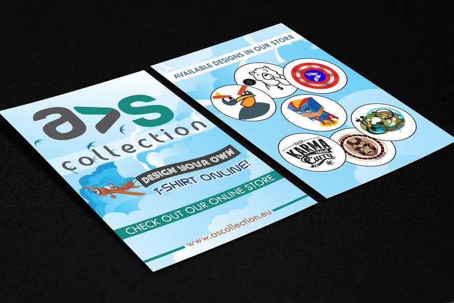 Penyertaan Peraduan #1 untuk Design a Flyer for a online shop