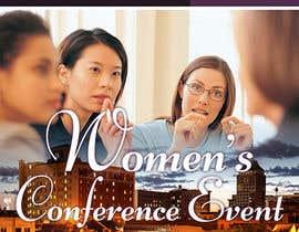 designciumas tarafından Women's Conference Event Flyer için no 20