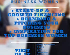 nontripshop tarafından Women's Conference Event Flyer için no 1
