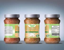 #28 untuk Fast & easy job, making a label design for natural seasoning oleh othmanesami2299