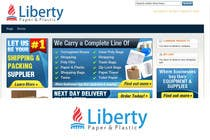 Contest Entry #220 for Design a Logo for Liberty Paper and Plastic