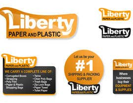 #225 for Design a Logo for Liberty Paper and Plastic by rogerweikers