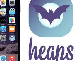 """dilpora tarafından Logo for the app """"Heaps"""" için no 153"""